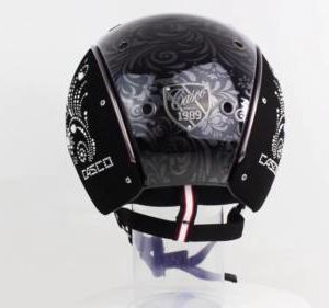 Casco Mistrall 2 Reithelm floral back