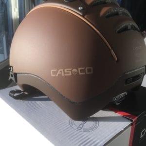Casco Mistrall 2 Reithelm braun Rückseite