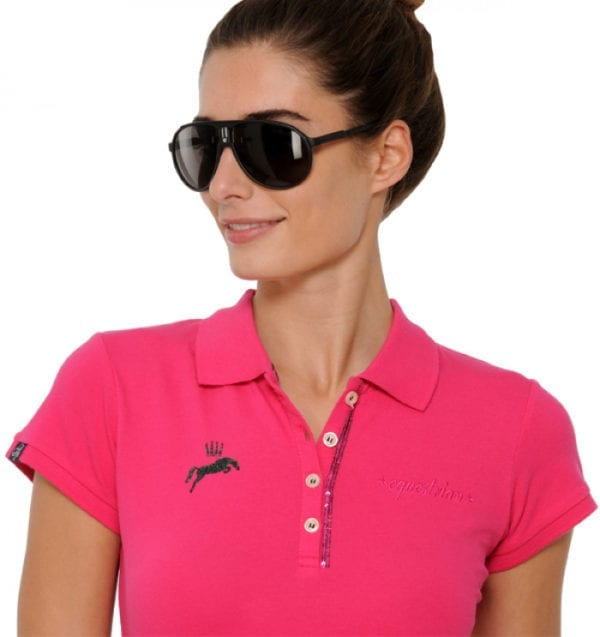 spooks Nicky pink polo