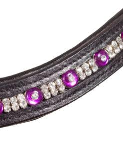 detail Glitzer Stirnband pink