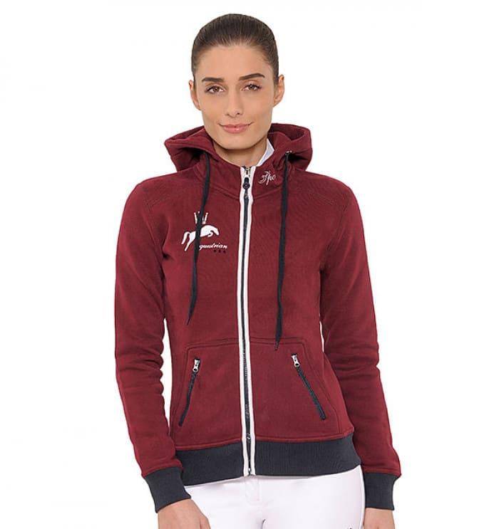 Anne jacket bordeaux