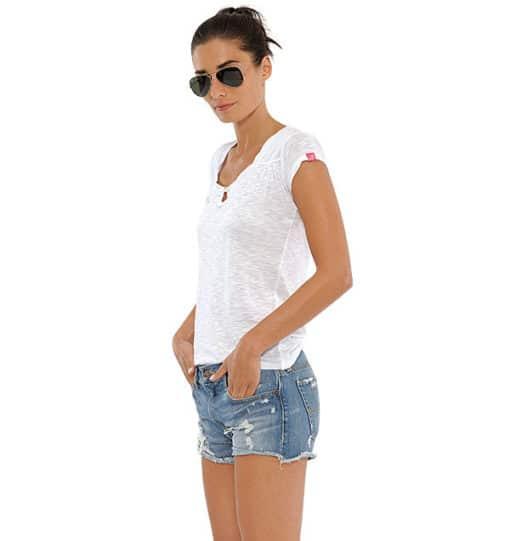 Luna Shirt White