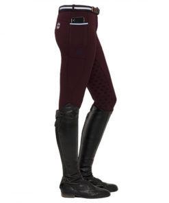 Leena Full Grip Burgundy Spooks