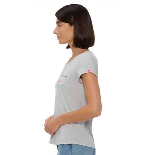 grau Polly Shirt