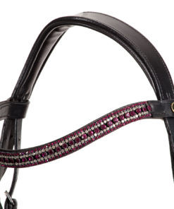 Stirnband mit pinkem Glitzer
