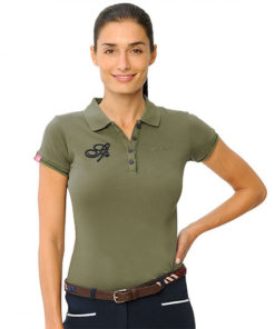 Ellena Polo light Olive