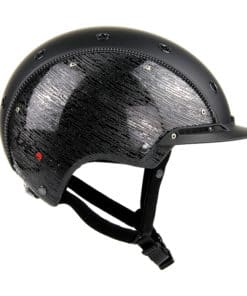 Casco Champ 3 Brush schwarz glanz